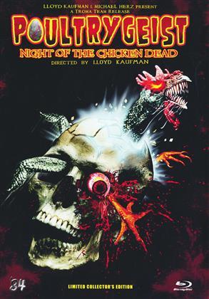 Poultrygeist - Night of the Chicken Dead (2006) (Collector's Edition, Edizione Limitata, Mediabook, Uncut)