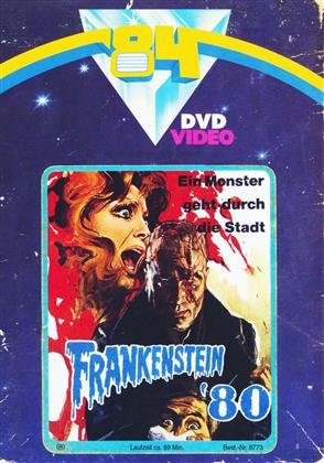 Frankenstein '80 (1972) (Cover A, Collector's Edition, Limited Edition, Mediabook, Uncut, Blu-ray + DVD)