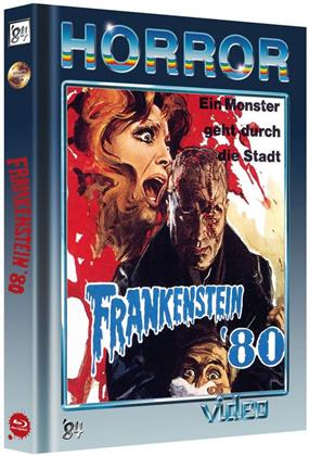 Frankenstein '80 (1972) (Cover B, Collector's Edition, Limited Edition, Mediabook, Uncut, Blu-ray + DVD)