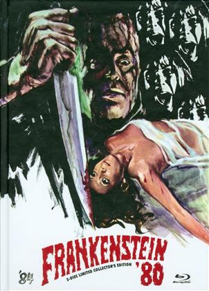 Frankenstein '80 (1972) (Cover C, Collector's Edition, Limited Edition, Mediabook, Uncut, Blu-ray + DVD)