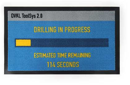 Payday 2: Drilling - Fussmatte