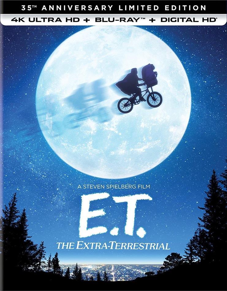 E T The Extra Terrestrial 1982 35th Anniversary Edition 4k Ultra Hd Blu Ray Cede Com