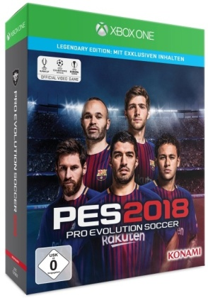 PES 2018: Pro Evolution Soccer 2018 (Legendary Edition)