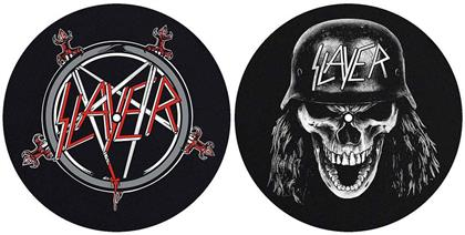 Slayer Slipmat Set - Pentagram / Wehrmacht