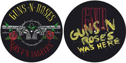 Guns N' Roses Slipmat Set - Los F'N Angeles / Was Here