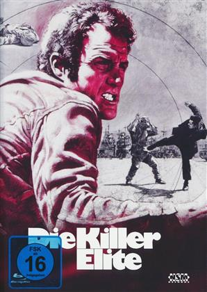 Die Killer Elite (1975) (Cover D, Limited Edition, Mediabook, Uncut, Blu-ray + DVD)
