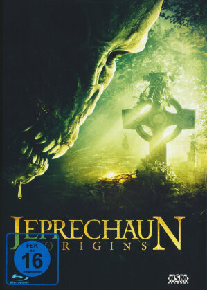Leprechaun - Origins (2014) (Cover B, Limited Edition, Mediabook, Uncut, Blu-ray + DVD)