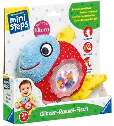 ministeps - Glitzer-Rassel-Fisch