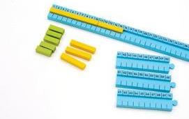 Numicon - 1-100cm Number Rod Track