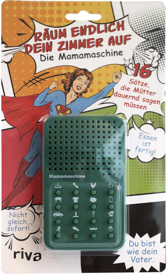 Räum endlich dein Zimmer auf – die Mamamaschine