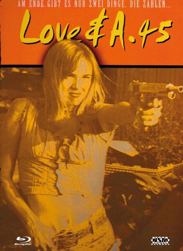 Love & a .45 (1994) (1994) (Cover C, Limited Edition, Mediabook, Uncut, Blu-ray + DVD)