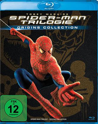 Spider-Man Trilogie (Origins Collection, 3 Blu-rays)