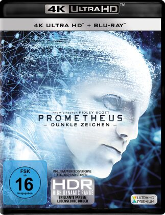 Prometheus - Dunkle Zeichen (2012) (4K Ultra HD + Blu-ray)