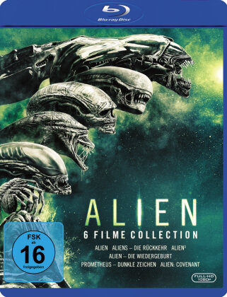Alien - 6-Film Collection (6 Blu-rays)