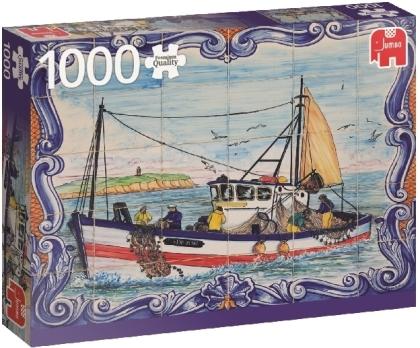 Portugiesische Fliesen aus Ferragudo - 1000 Teile Puzzle