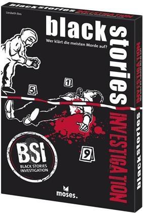 Black Stories - Das Krimi-Kartenspiel - Investigation BSI