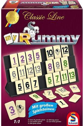 Classic Line - MyRummy - mit großen Rummy Spielfiguren