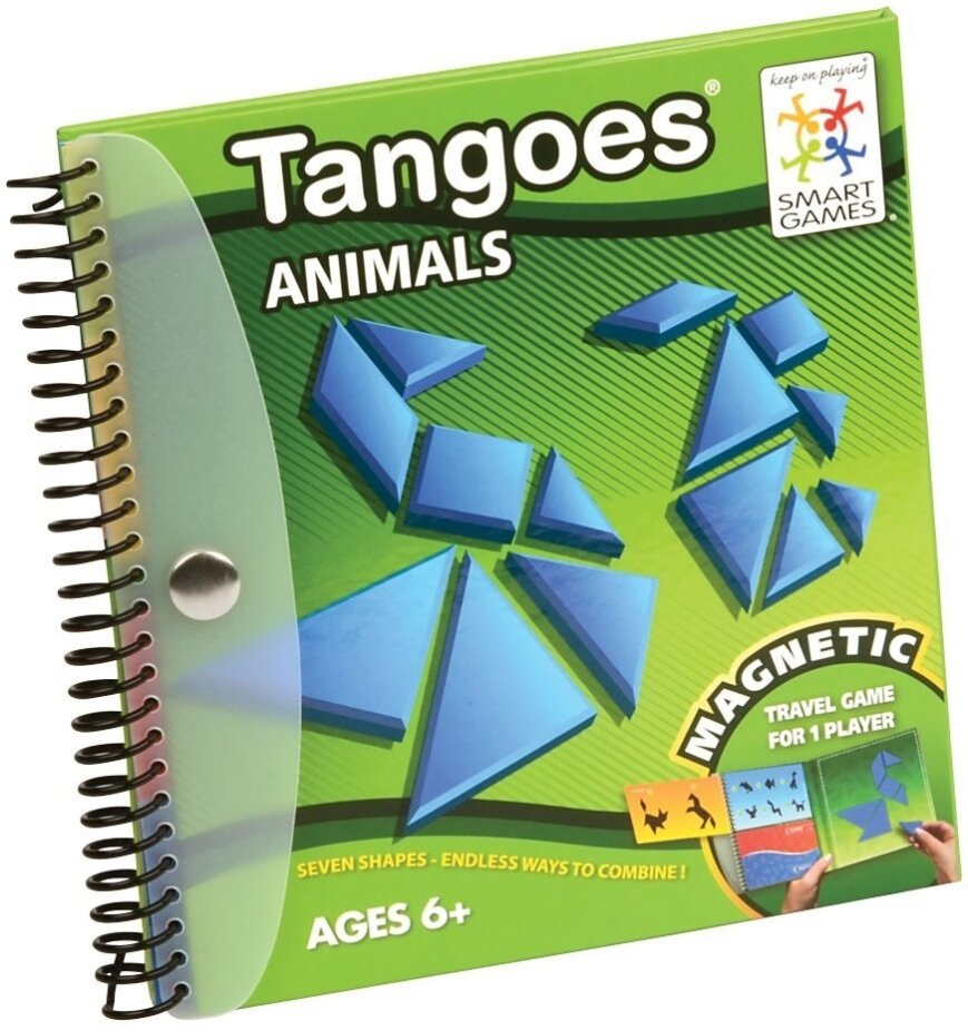 Tangoes Animals - Magnetic Travel Game for 1 Player