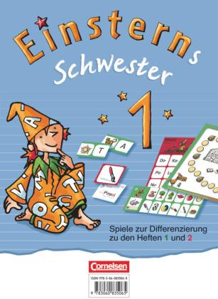 Einsterns Schwester, Zu Ausgabe 2015 und Ausgabe 2021, 1. Schuljahr - Spiele zur Differenzierung zu den Heften 1 und 2