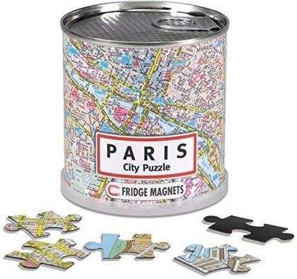 Paris City Puzzle Magnets - 100 Teile