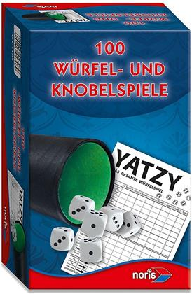 100 Würfel- und Knobelspiele - Noris Spiele 606154308