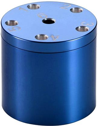 Aluminum Super Six Travel Game (Blue)