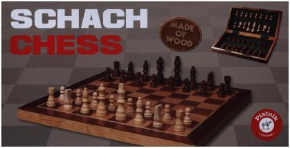 Schach aus Holz