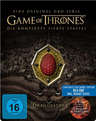 Game of Thrones - Staffel 7 (inkl. Magnet Siegel, Limited Edition, Steelbook, 4 Blu-rays)