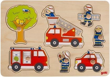 Feuerwehreinsatz - 7 Teile Holzpuzzle