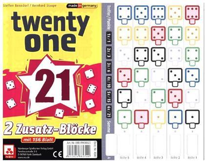 Twenty One - 2 Zusatz-Blöcke