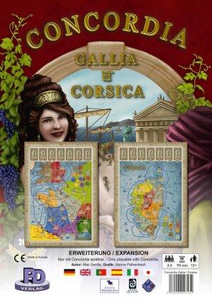 Concordia - Gallia Et Corsica (Spiel-Zubehör)