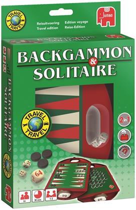 Backgammon & Solitaire - Travel (Spiel)