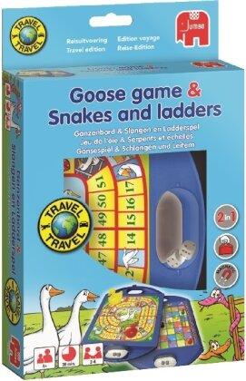 Gänsespiel & Schlangen und Leitern - Travel (Spiel)
