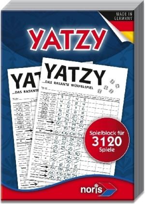 Knubbel / Yatzy - Extradicker Spielblock für 3120 Spiele (Spiel-Zubehör)