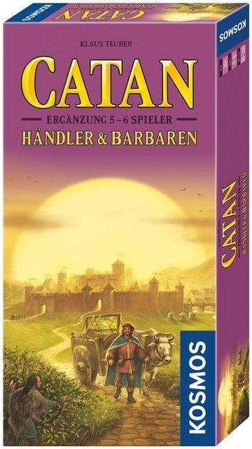 Catan: Händler & Barbaren - Ergänzungs-Set für 5 & 6 Spieler