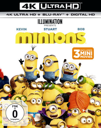 Minions (2015) (4K Ultra HD + Blu-ray)