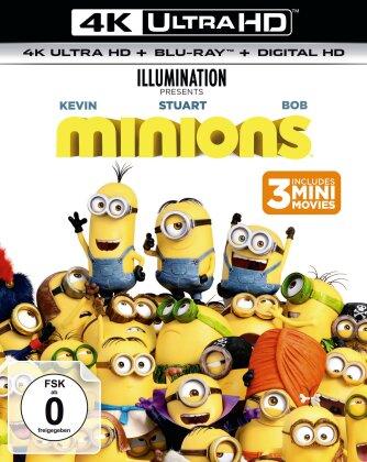 Minions (2015) (4K Ultra HD + Blu-ray)