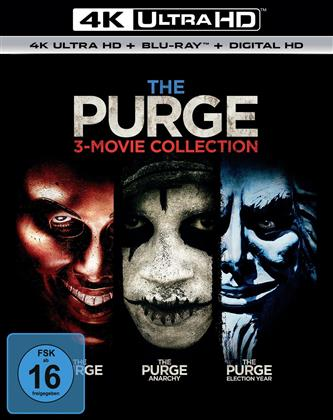 The Purge - 3-Movie Collection (3 4K Ultra HDs + 3 Blu-rays)