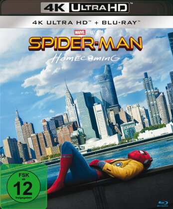Spider-Man: Homecoming (2017) (4K Ultra HD + Blu-ray)