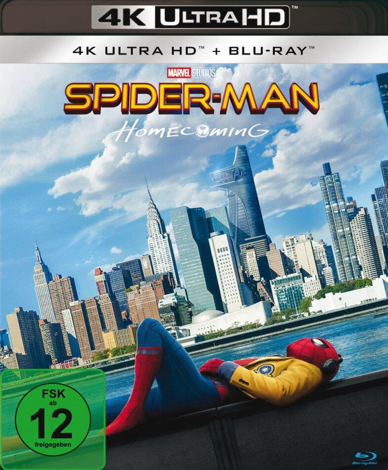Spider-Man: Homecoming (2017) (4K Ultra HD + Blu-ray)