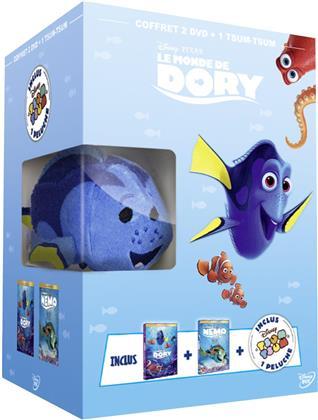 Le Monde de Nemo / Le Monde de Dory (+ Plüschtier, Box, Limited Edition, 2 DVDs)