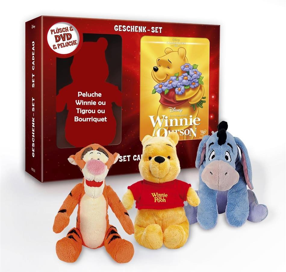 Les aventures de Winnie L'Ourson (1977) (+ Plüschtier, Limited Edition)