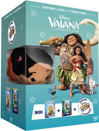 Vaiana (2016) / La petite Sirène (1989) (+ Plüschtier, Box, Limited Edition, 2 DVDs)