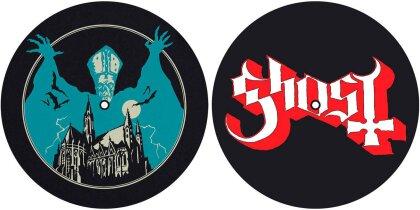 Ghost Slipmat Set - Opus Eponymous/Logo