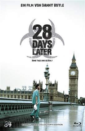 28 Days Later (2002) (Grosse Hartbox, Cover B, Collector's Edition, Limited Edition, Uncut, Blu-ray + DVD)