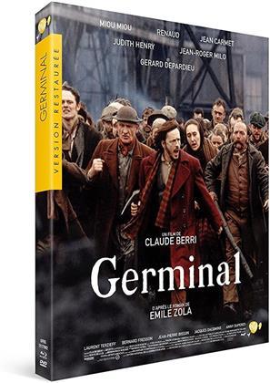 Germinal (1993) (4k, Restaurierte Fassung, Blu-ray + DVD)
