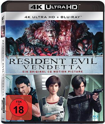 Resident Evil - Vendetta (2017) (4K Ultra HD + Blu-ray)