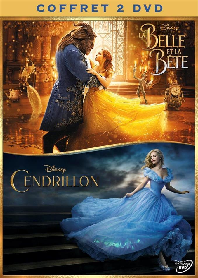 La Belle et la Bête (2017) / Cendrillon (2015) (Box, Limited Edition, 2 DVDs)