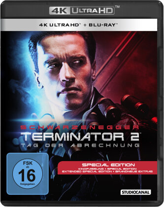 Terminator 2 - Tag der Abrechnung (1991) (Extended Edition, Kinoversion, Special Edition, 4K Ultra HD + Blu-ray)