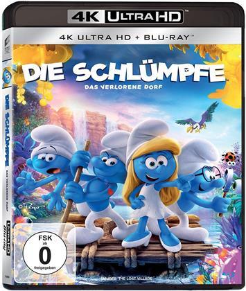 Die Schlümpfe - Das verlorene Dorf (2017) (4K Ultra HD + Blu-ray)